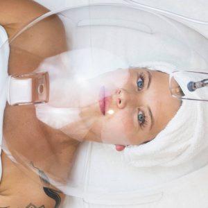 oxigeno facial cupula